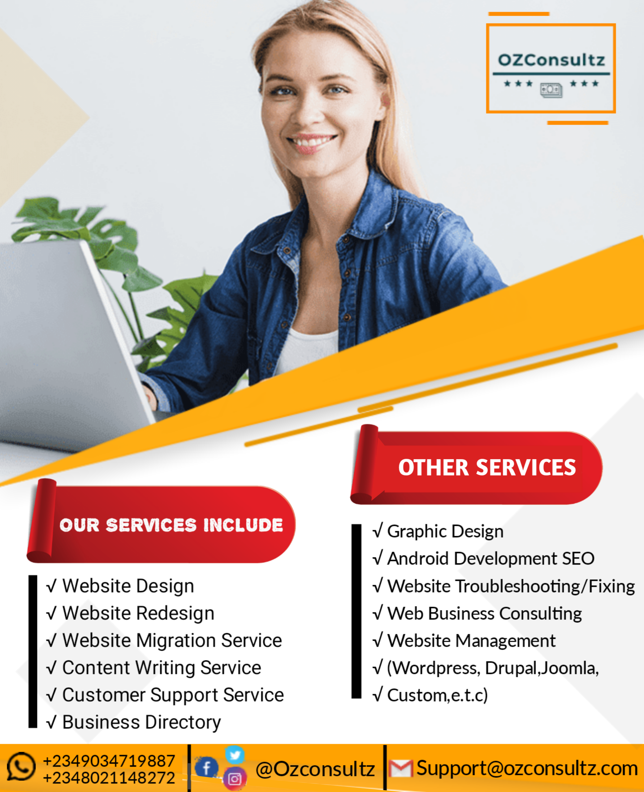 Ozconsultz- Affordable Web Design Agency