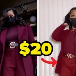 Michelle Obama's Inauguration Outfit Re-Created For $20